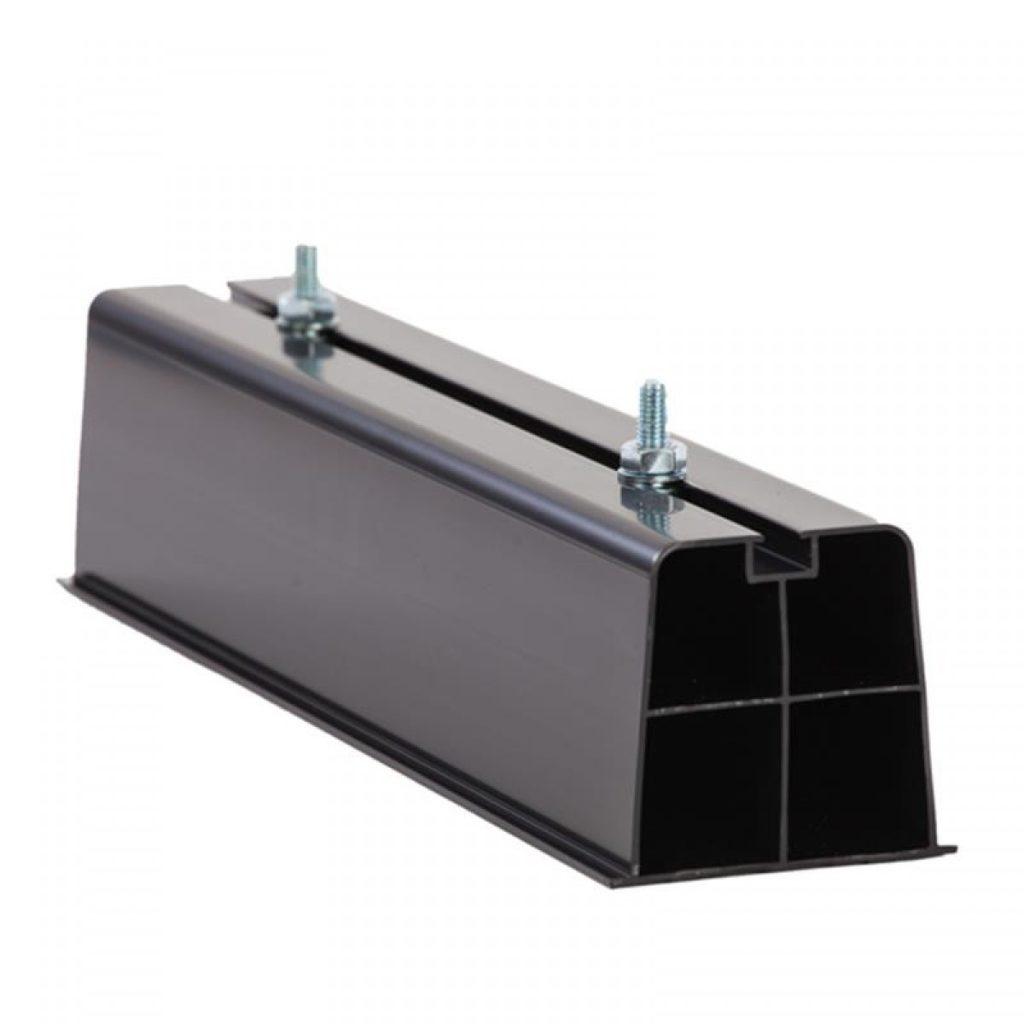PVC kunststof opstelprofiel voor buitenunit
